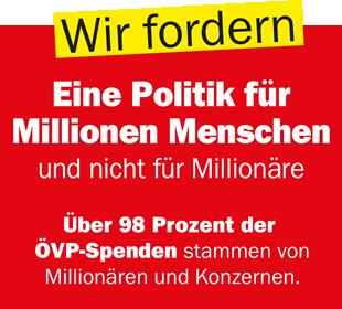 Wir fordern - Eine Politik für Millionen Menschen